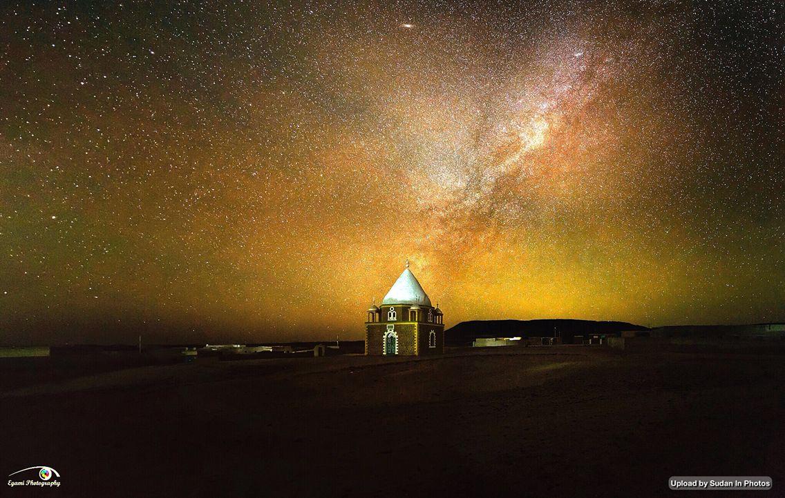 Clear Night Sky Over Sudan السماء ليلا فوق السودان By Mohamed Egami Sudan Stars Night Natural Landmarks Photo Landmarks