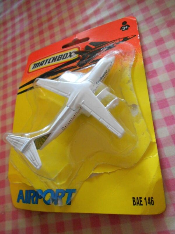 Matchbox skybusters bae 146 continental airlines aviones - Avion hot wheels ...