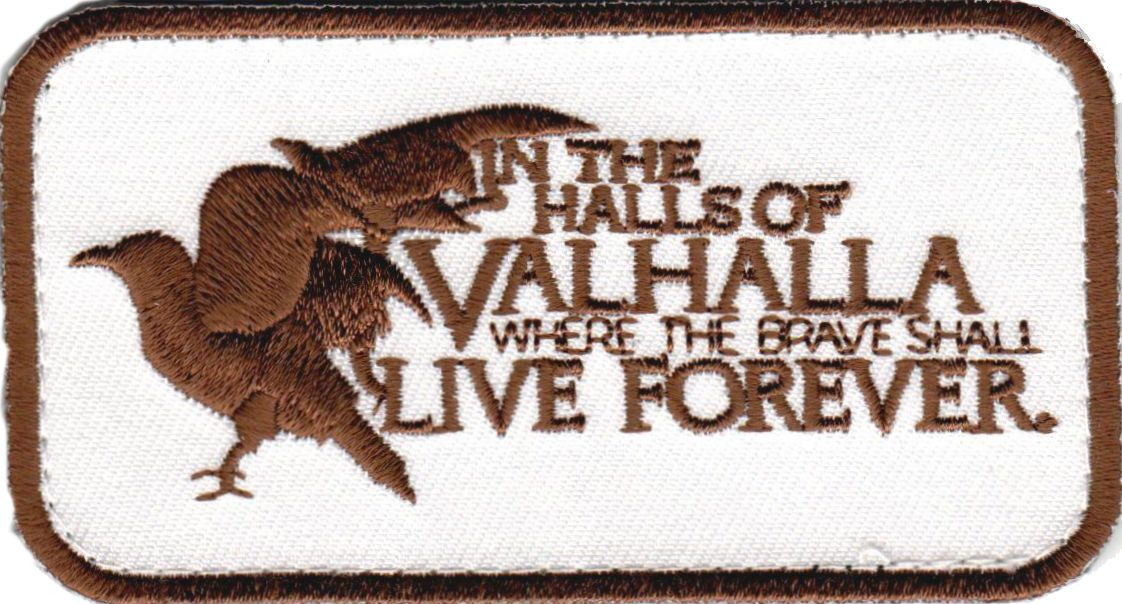 Tactical morale military patch To be a war means to live forever
