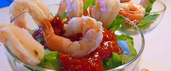 Traditional Mexican Shrimp Cocktail #mexicanshrimprecipes