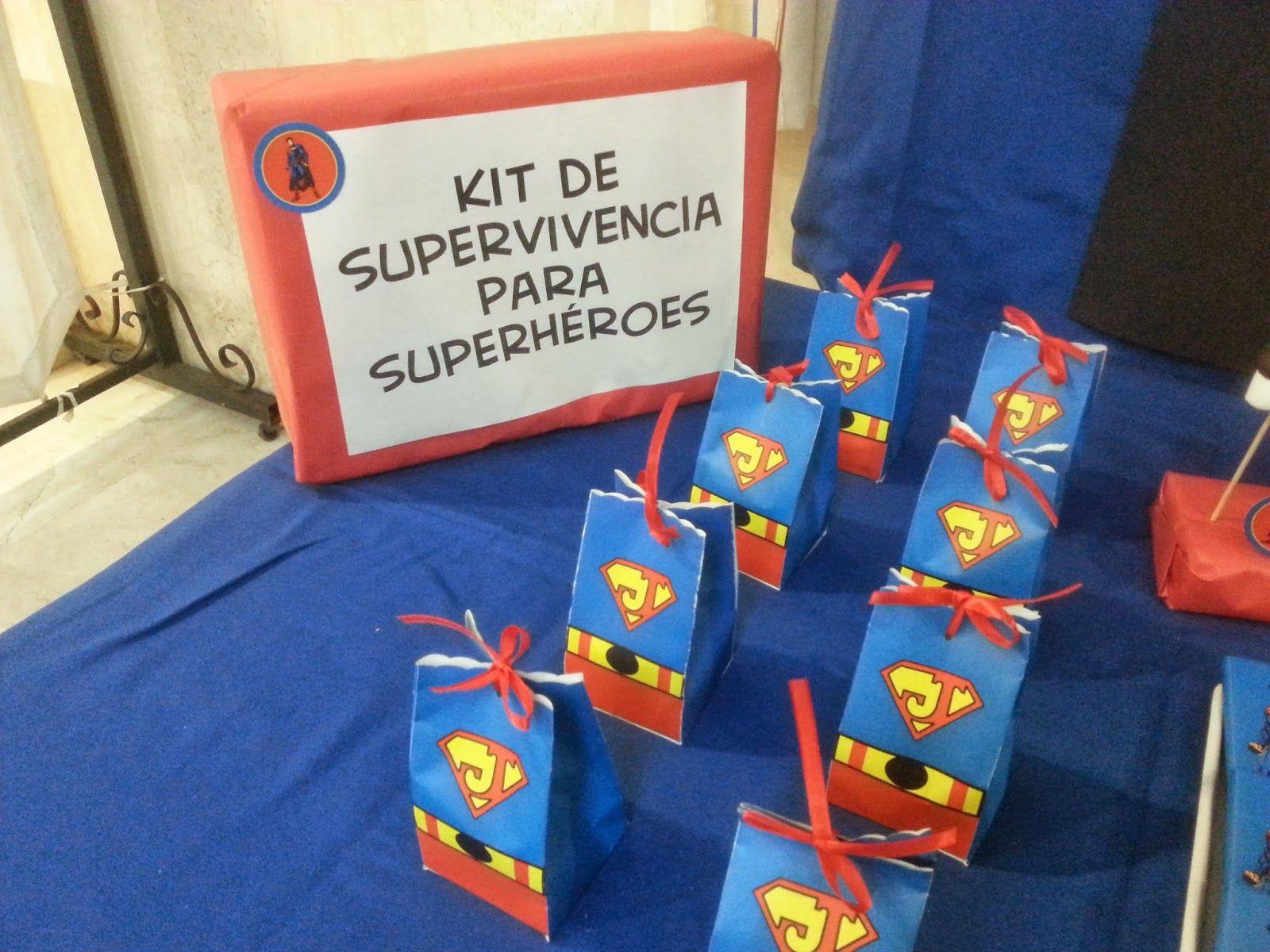 fiesta infantiles de superman decoracion buscar con google