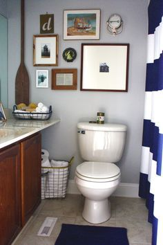 Bathroom Nautical Bathroom And Basement Bathroom Design Ideas By The  Combination Of Great Design And Comely Decoration Dedicated Specifically  For Your Own ...