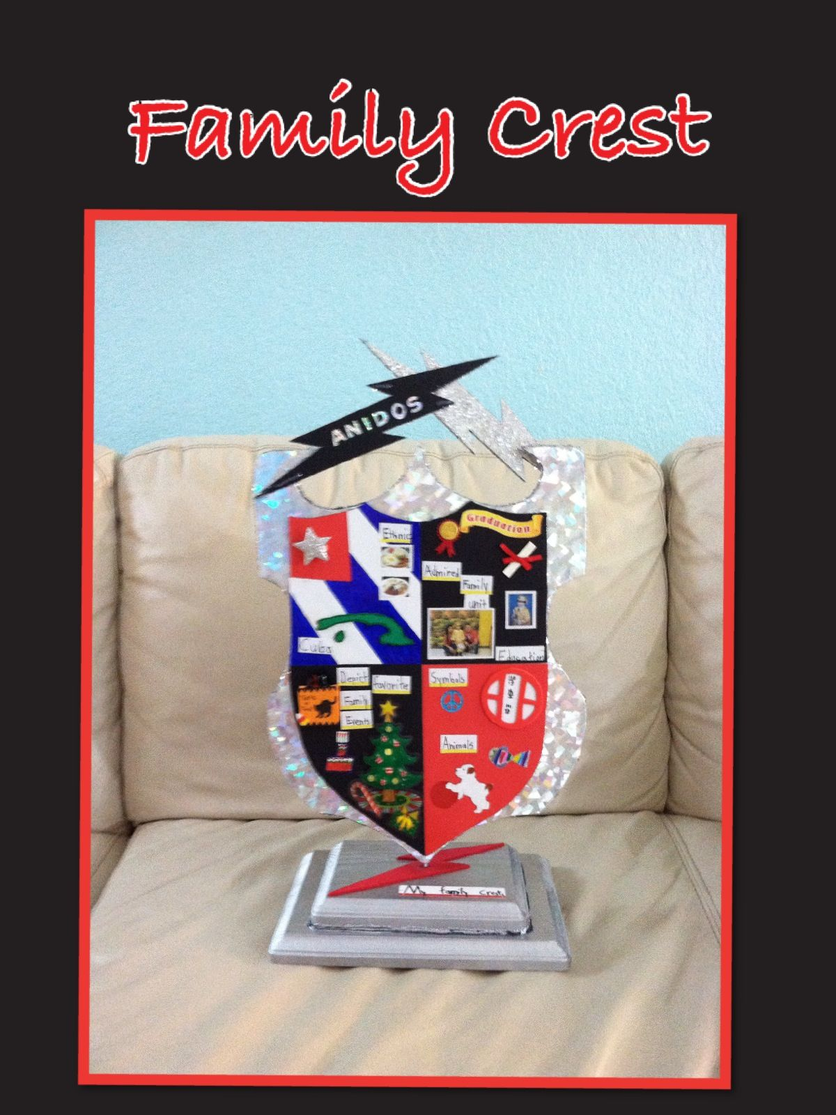 Family Crest  Get some ideas how to make a project for