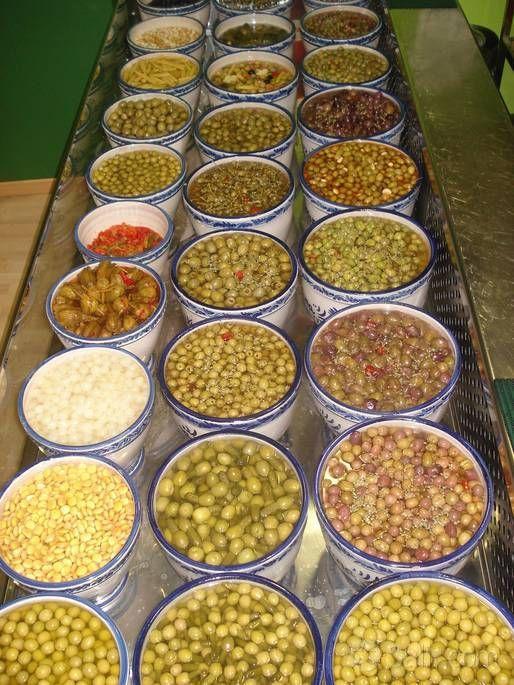 Olives In Sevilla Spain Con Imagenes Gastronomia Espanola