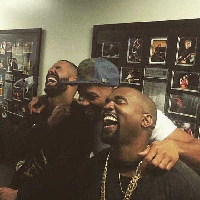 Drake, Kanye West & Will Smith Laugh At Meek Mill Memes Backstage At OVO Fest 2015