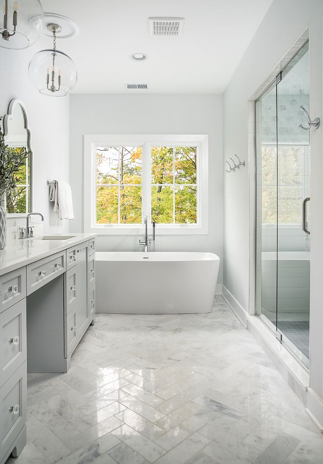 Herringbone Marble Floor Tile Bathroom Marble Floor Tile Asian Statuary 4x12 Polished Tile Herringbone Marble Floor Light Grey Bathrooms Grey Marble Bathroom