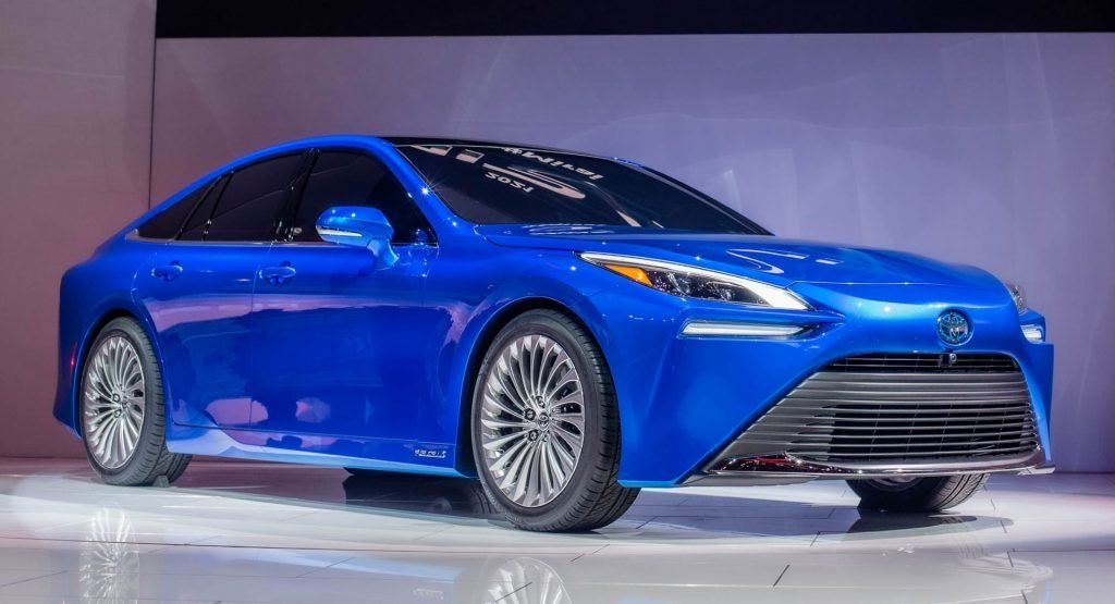 Striking 2021 Toyota Mirai Wants You To Completely Forget About Its Fugly Past Carscoops In 2020 Toyota Car Tokyo Motor Show