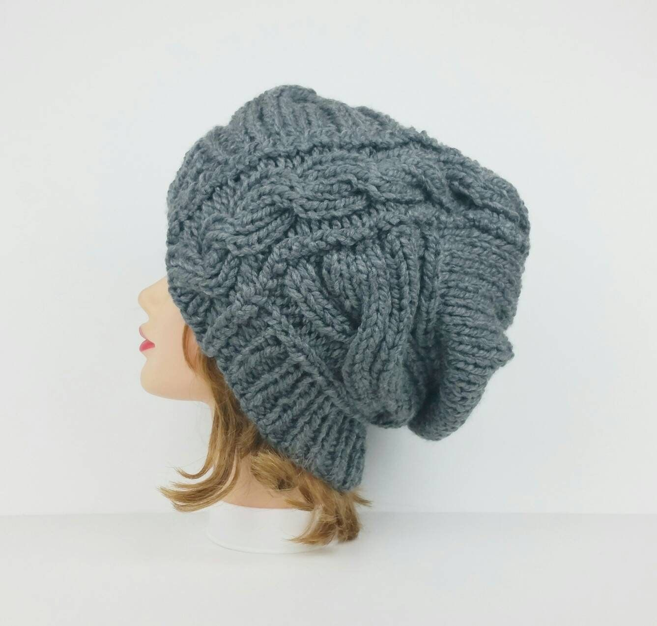 3301d7fe755 Cable Knit Hat Women