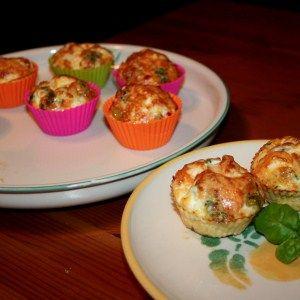 Kasvismunakas muffinivuoissa