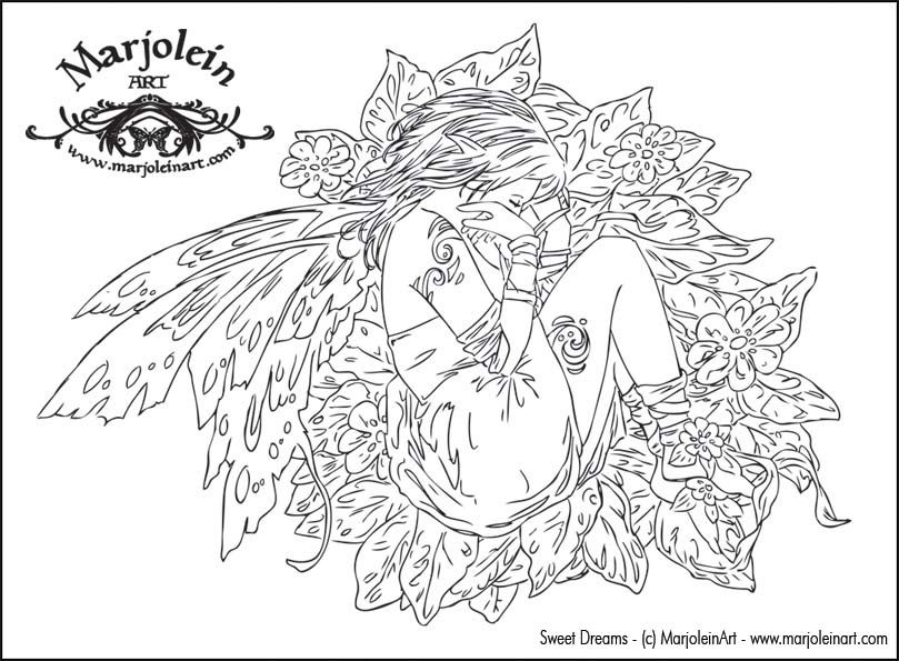 Enchanted Designs Fairy Mermaid Blog Free Coloring Pages By Marjolein Gulinski And More