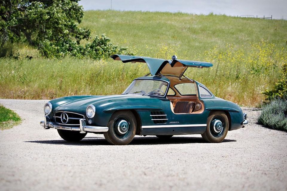 In 1954, Mercedes introduced a race car for the street - the 300SL ...