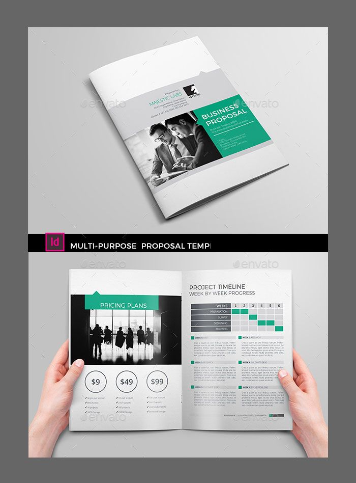 cool Corpo Business Proposal #1STUDIO #agency #brand #brochure - best proposal templates