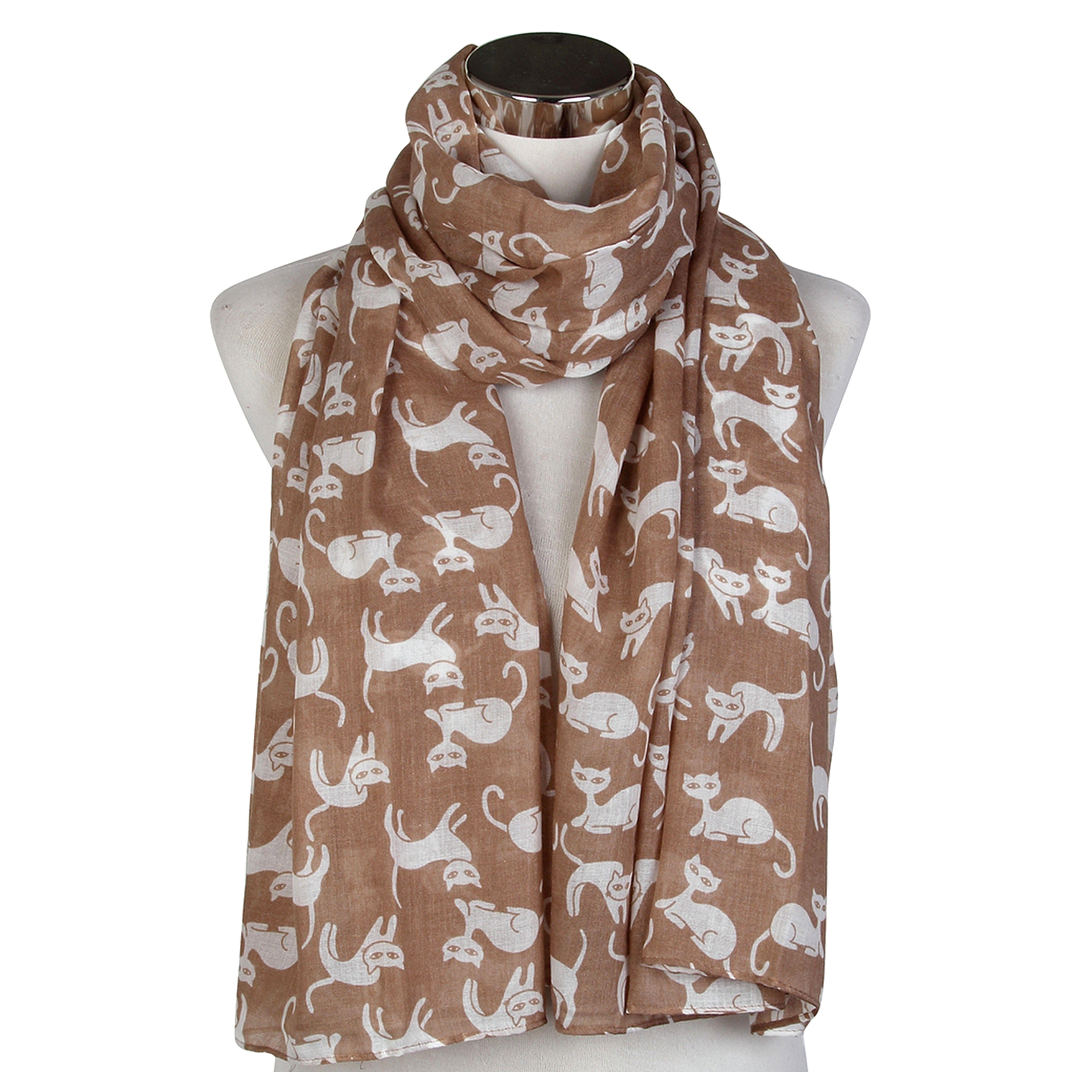 Donna Sciarpe Big Giraffe Stampa Design viscosa Scialli