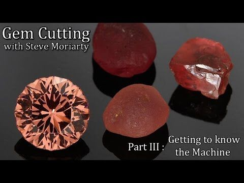 How to cut Gemstones: 3 Getting to know the Faceting Machine - YouTube