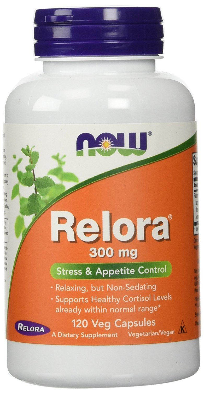 Now Foods Relora 300 mg, Vegcapsules, 120Count => You