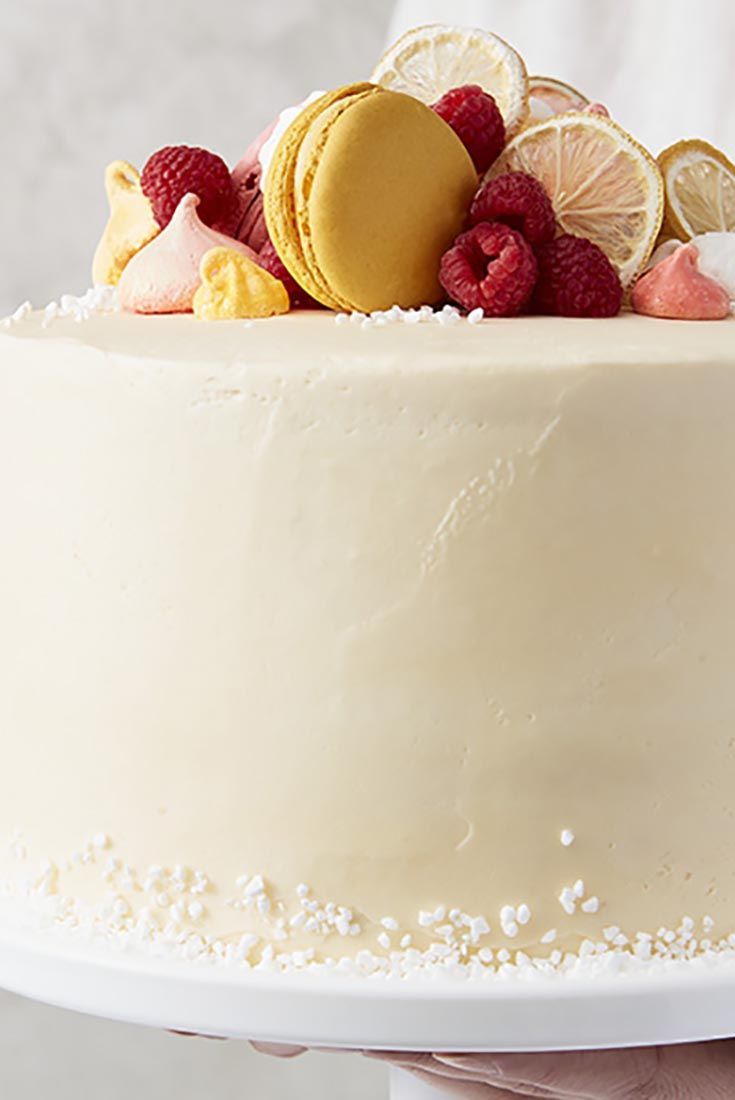 Lemon Buttercream Frosting #lemonbuttercream
