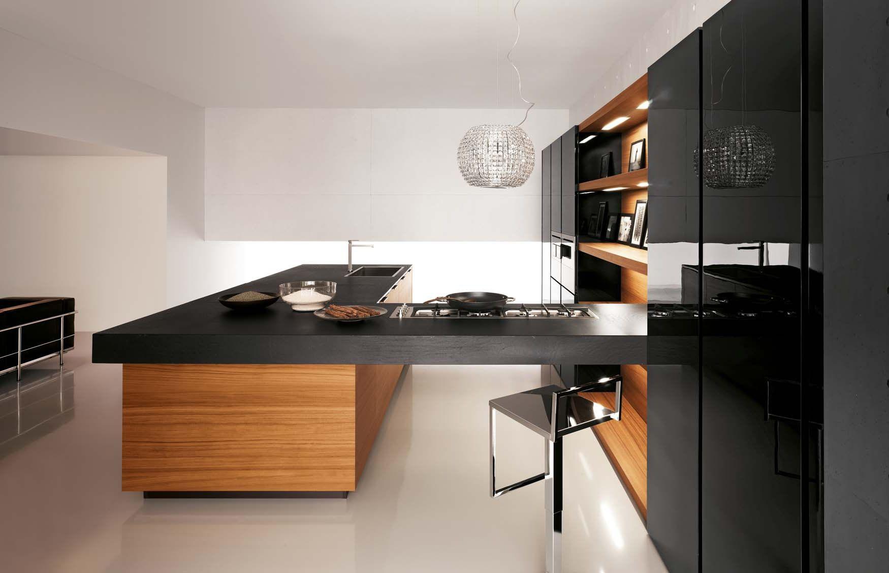 кухня с островом в современном стиле фото: 25 тыс ...