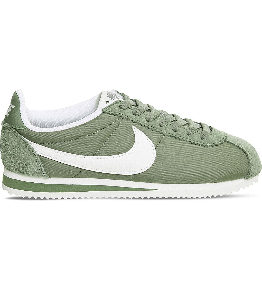 NIKE - Cortez low-top woven trainers
