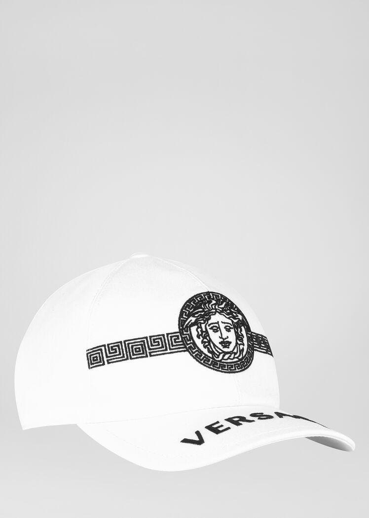 Medusa Logo Cap White Hats Gloves Mens Caps Hats For Men Versace Men