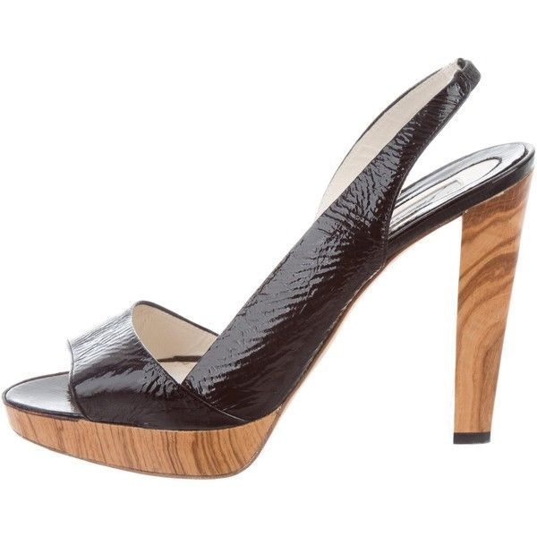 Pre-owned - Patent leather sandals Brian Atwood H69VNIzM9
