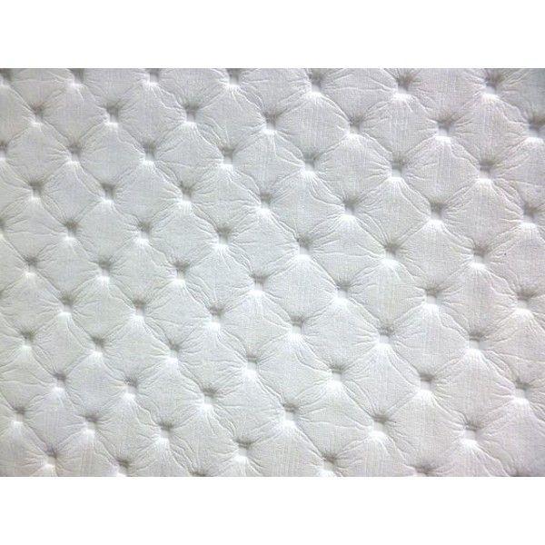 tissu simili cuir motif capitonne pais blanc a0030. Black Bedroom Furniture Sets. Home Design Ideas