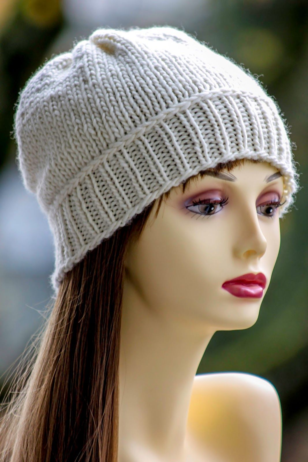 Susan's Slouch Hat | Slouch hat pattern, Knitted slouch ...