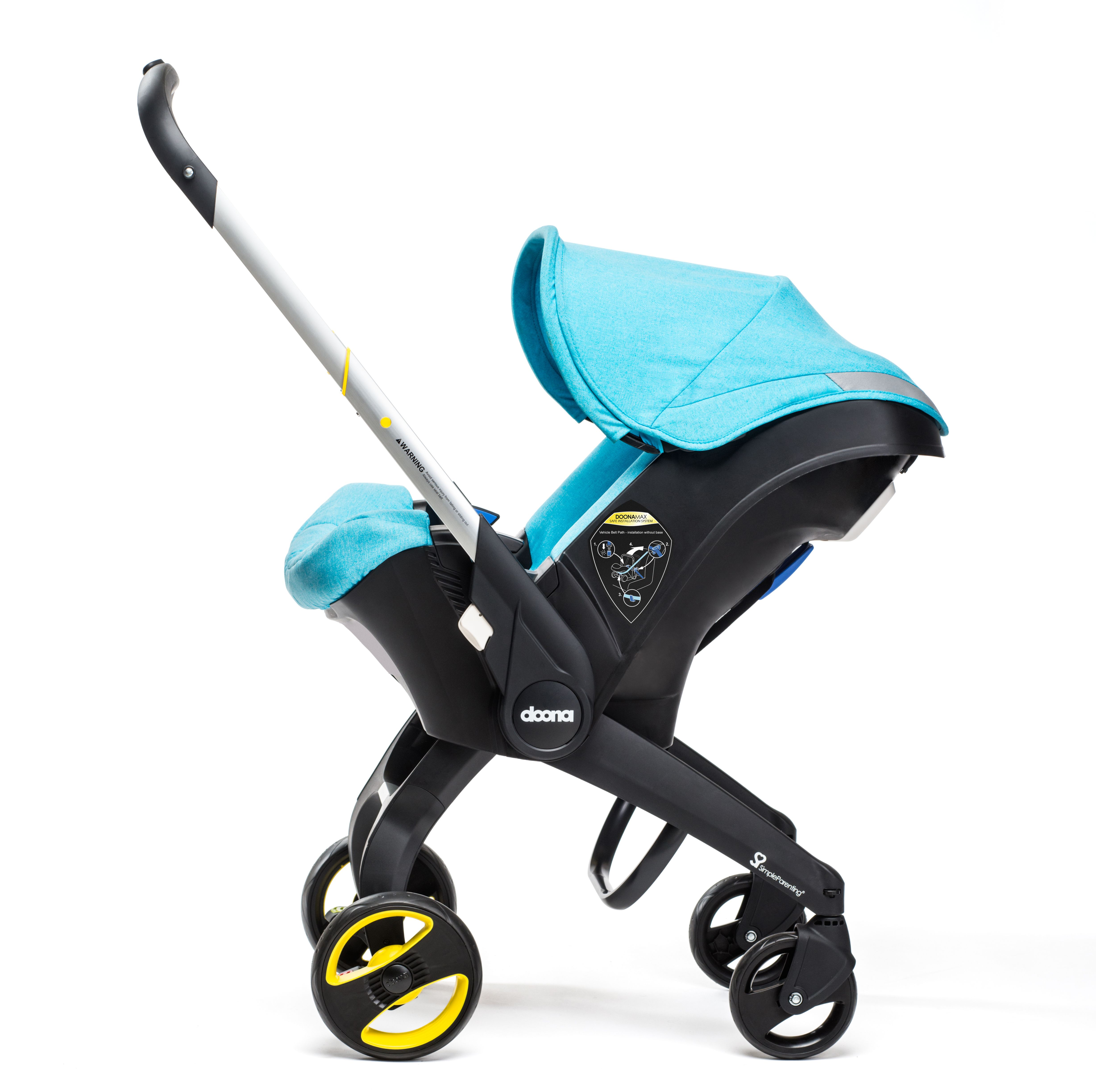 The new Doona Car Seat Stroller brought to you by Cuddleco (UK and ...