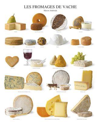 Les fromages de vache, Atelier Poster