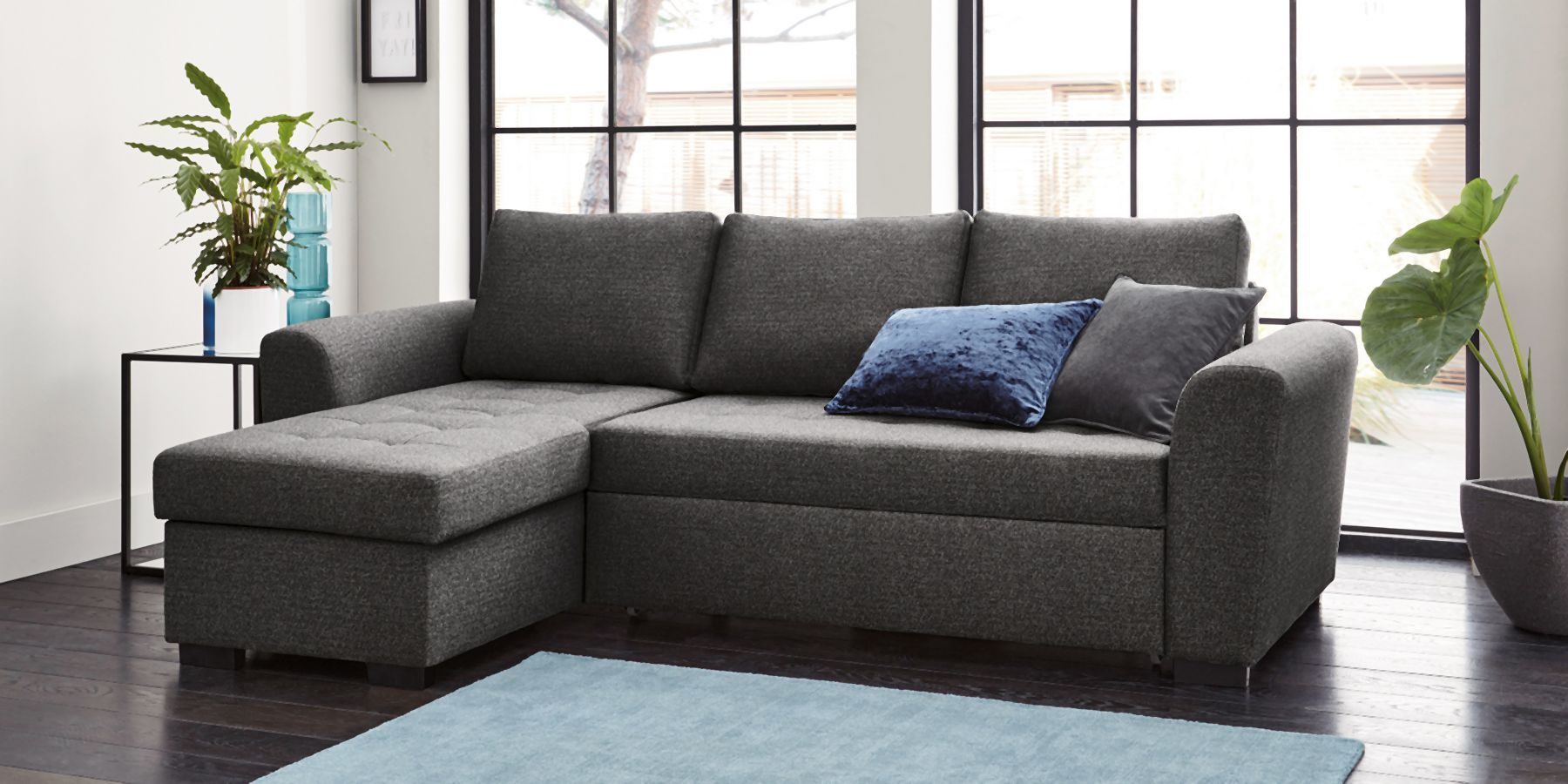 Buy Quentin Universal Corner Storage Sofabed (4 Seats