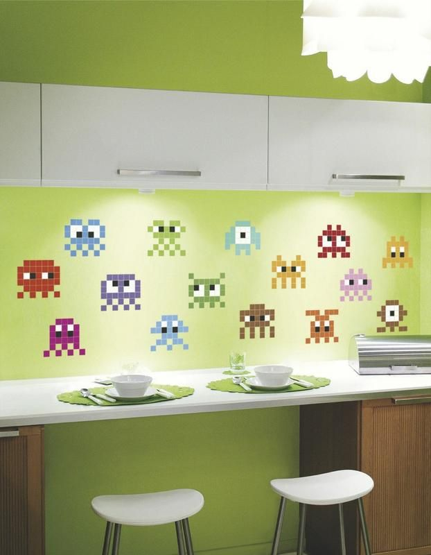 Papel tapiz en paredes google search colores pinterest playrooms - Papel pared cocina ...