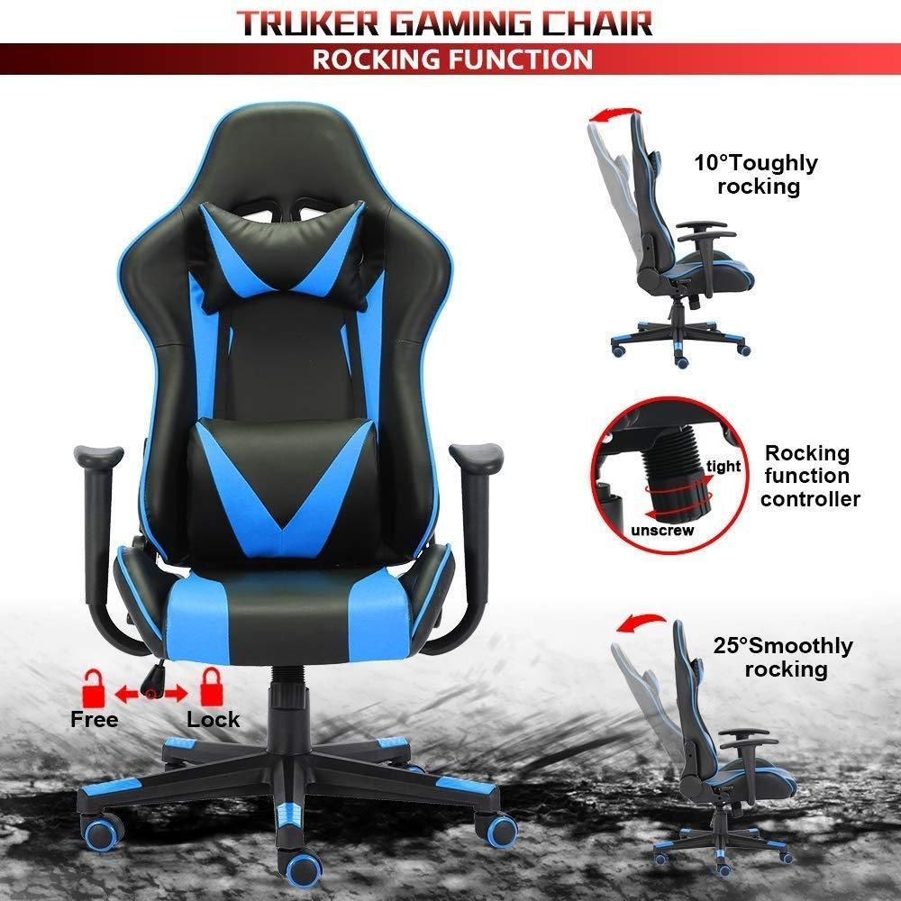 Truker Gaming Chair Home Office Chair Racing Style High