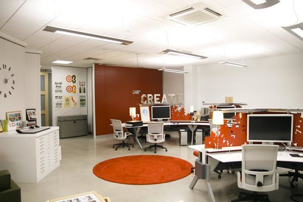 graphic design office. A Showcase Of Inspiring Graphic Designer Offices Creative Pinboards At The Desk That Are Also Visual Partition Design Office