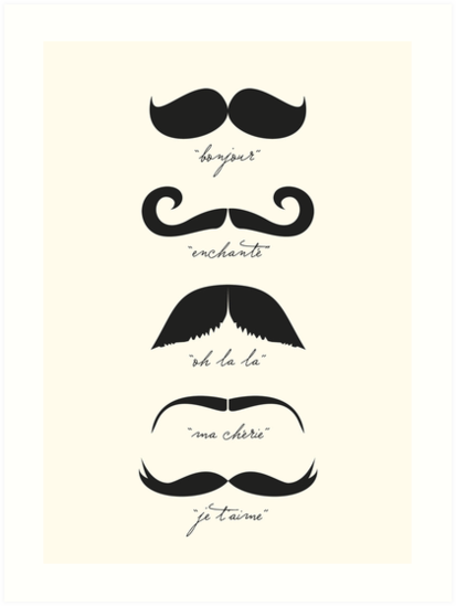 Monsieur Moustache By Theloveshop French Mustache Moustache Mustache