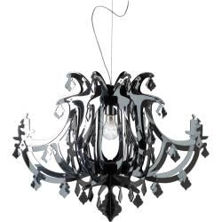 Photo of Slamp Ginetta pendant lamp, black Slamp