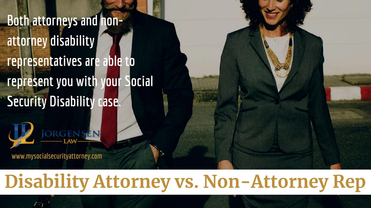 Disability Attorney vs  Non-Attorney Rep | Social Security
