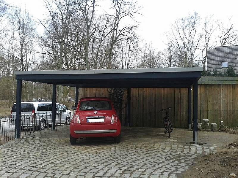 minimalistic carport (extension) carporthaus.de