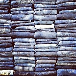 jeans on jeans