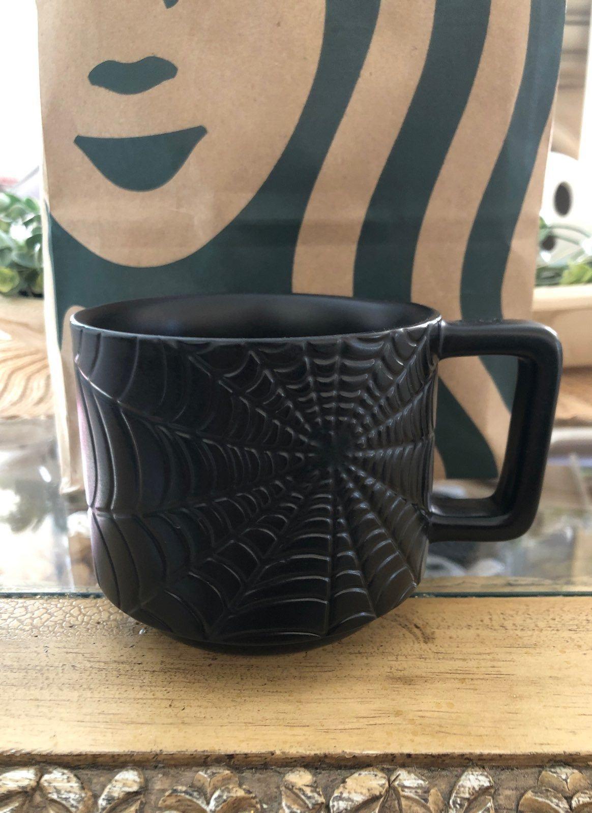Easter sunday calls for a big cup of coffee. Starbucks black spiderweb mug. HTF! 2019 Halloween release. | Mugs, Starbucks black, Starbucks mugs