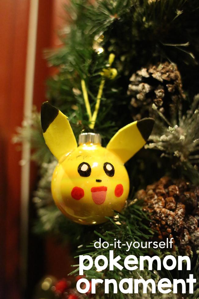 Diy pokemon ornament pokmon ornament and christmas things christmas ornament diy solutioingenieria Choice Image