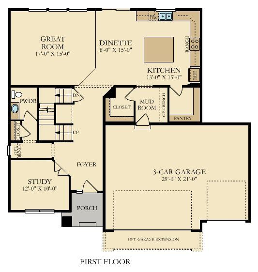 Introducing The Calloway First Floor Floor Plans House Plans Lennar