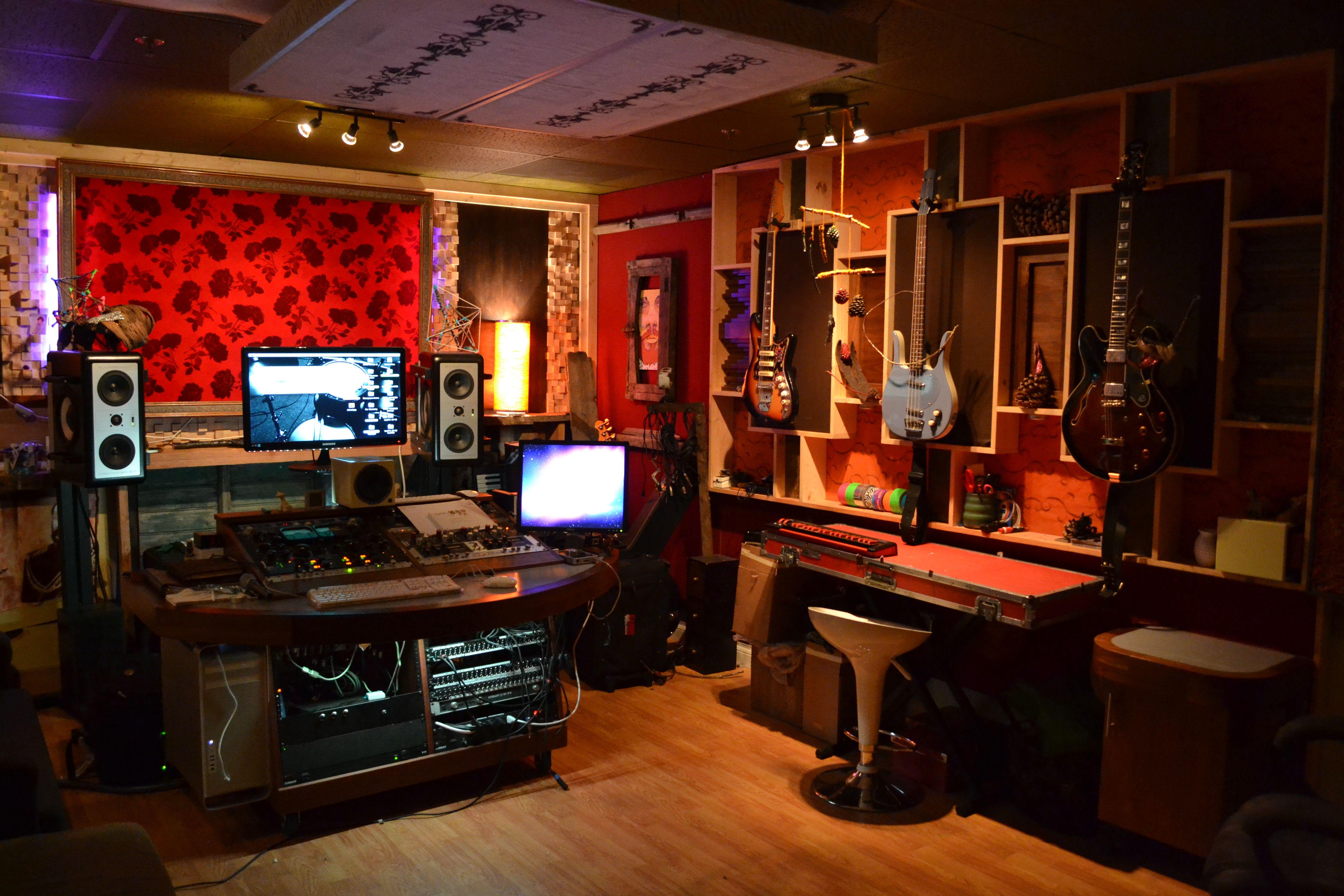 Creative Music Production Studio Spaces Audio Studio