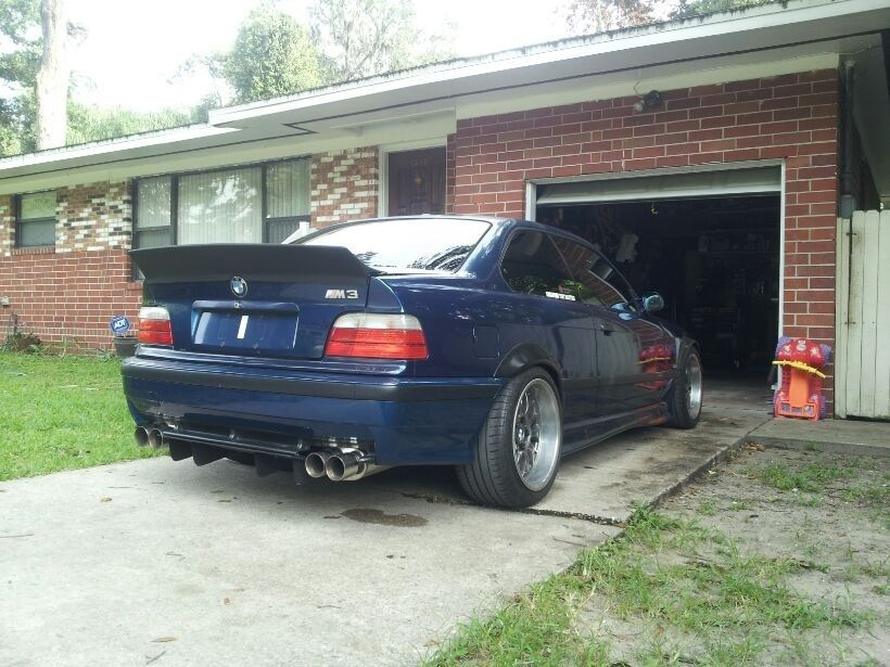 Cool Spoiler And Fender Flares E36 Coupe