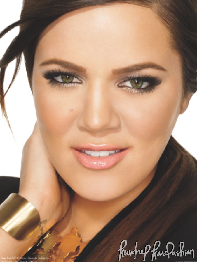 Kourtney Kim Khloe Kardashian Khroma Beauty Makeup Promo Shots