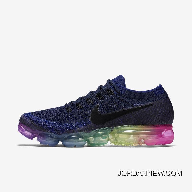 los angeles 00cc7 f3d65 2018 Nike Air Vapor Max Flyknit Rainbow Mens Running Shoes 883275 400  Authentic, Price 126.80 - Air Jordan Shoes, Michael Jordan Shoes