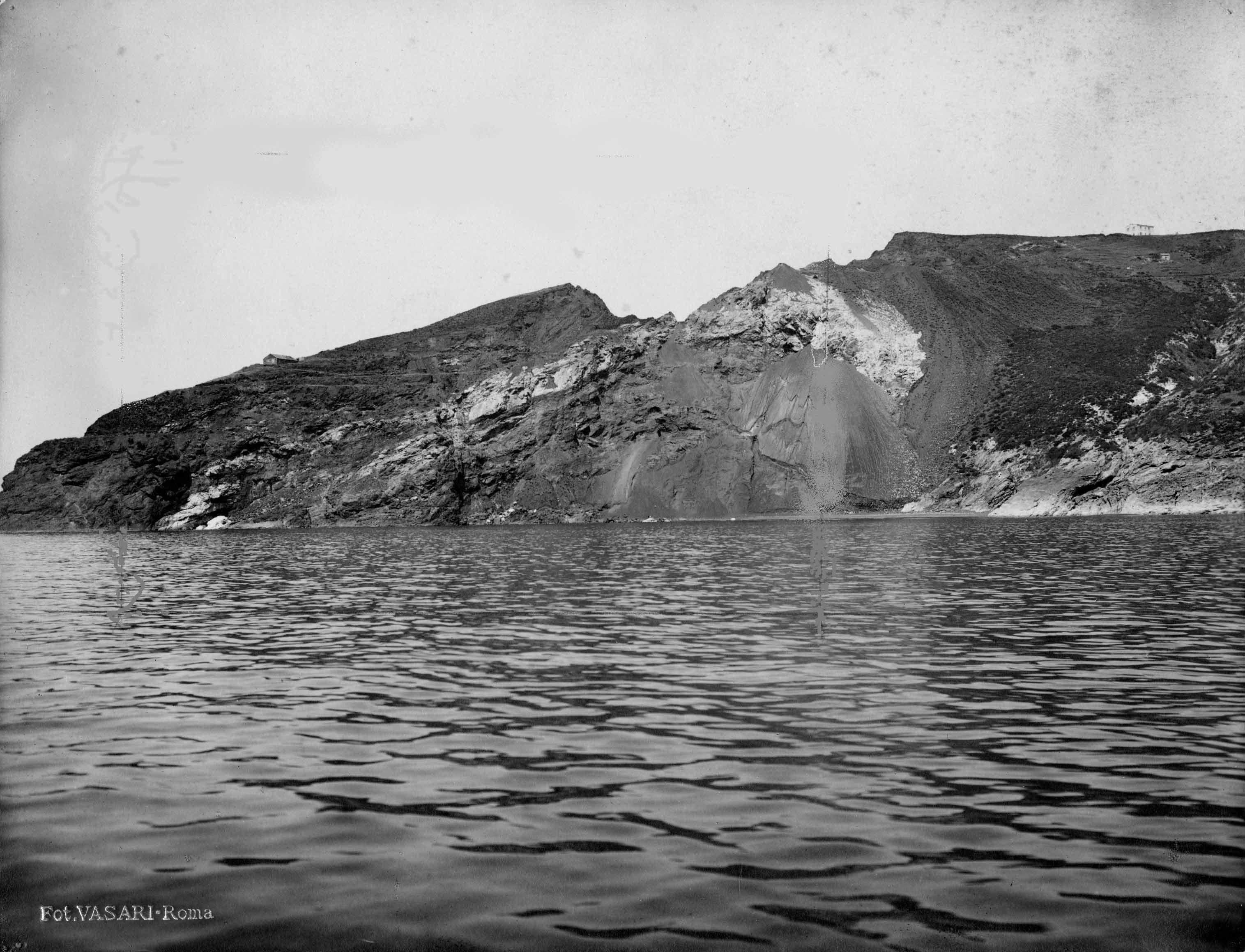 Capoliveri's mines, cala le Francesche, Isola d'Elba