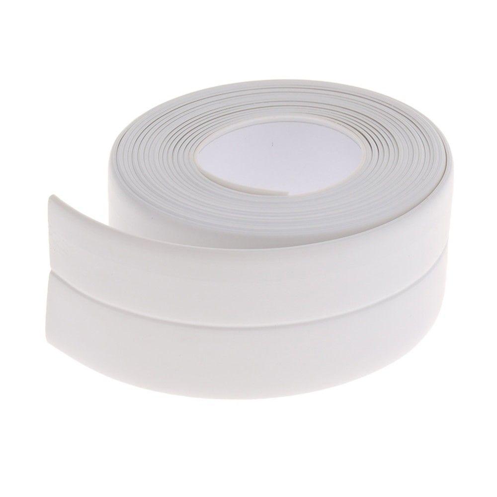 3 2mx38mm Bathroom Sink Bath Sealing Strip Tape Caulk Strip Self Adhesive Waterproof Wall Sticker For Bathr Caulk Strips Bathroom Wall Stickers Waterproof Tape
