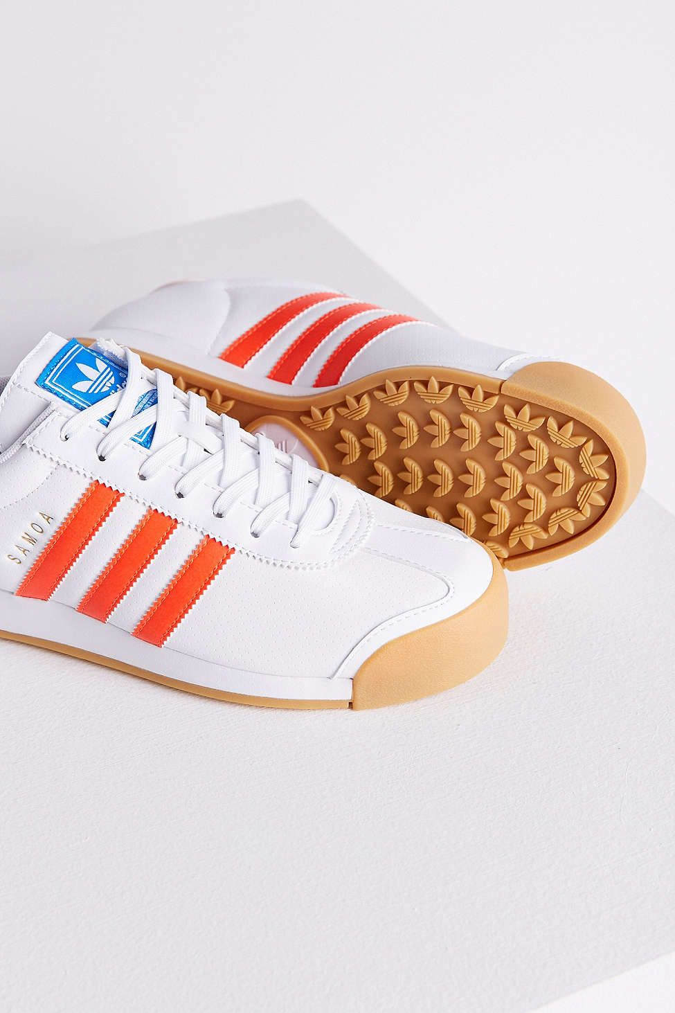 adidas Samoa Perforated Gum Sole Sneaker