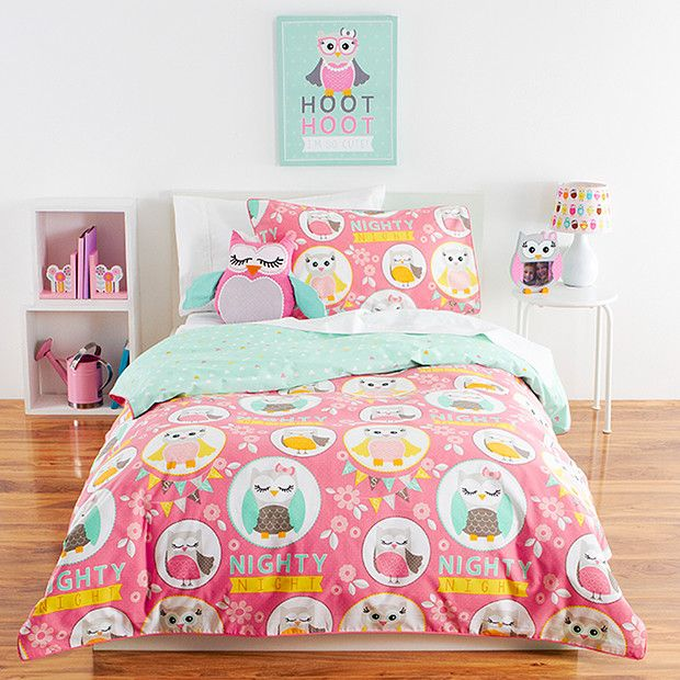 Nighty Owl Quilt Cover Set | Bedroom Ideas | Pinterest | Owl ... : owl quilt cover - Adamdwight.com
