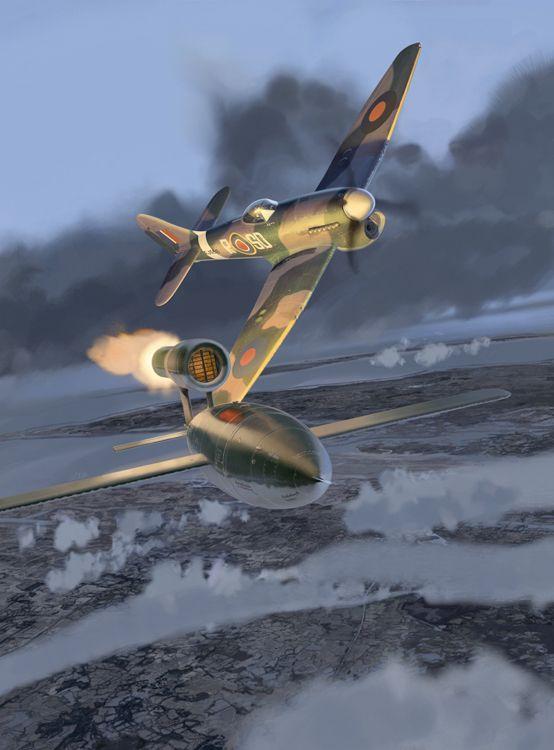 Hawker Tempest V vs V1