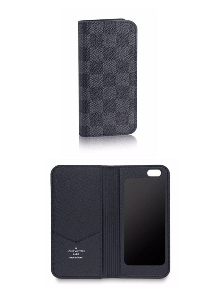 reputable site d4e7c 0e50d Louis Vuitton's Damier Graphite iPhone 6 case is an ideal gift for ...